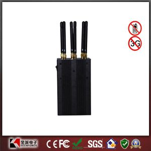 Handheld 6 Antennas GPS + Cell Phone + WiFi Jammer pictures & photos