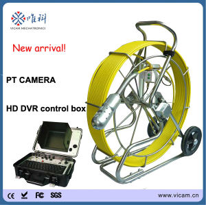 Pan Tilt Camera for Pipe Inspection with 512Hz Transmitter pictures & photos