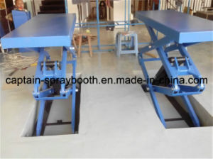 Inground Scissor Car Lift/Vehicle Maintenance pictures & photos