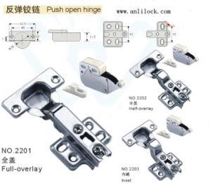 Push Open Hinge, Door Hinge, Desk Door Hinge (AL-2201, 2202, 2203) pictures & photos