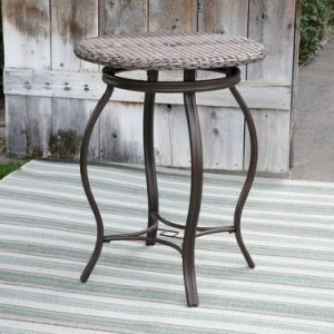 Well Furnir T-039 Sturdy Frame Coast Wicker Bar Bistro Dining Set pictures & photos