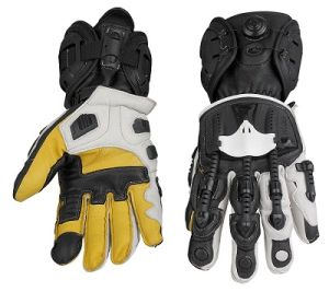High Quality Wholesale Genuine Goat Leather Motorcycle Glove Motoracing Gloves pictures & photos