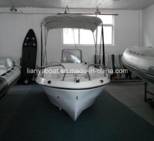 Liya 5m CE Certification Outboard Motor Fiberglass Tender Boat for Sale pictures & photos