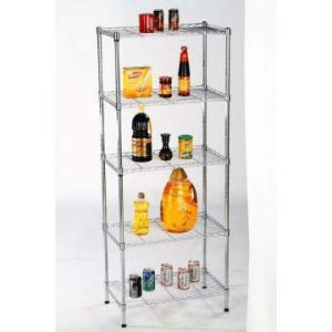 Adjustable Chrome Home Wire Rack Shelf (CJ6035120C5C) pictures & photos