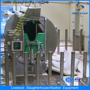 Halal Cattle Pneumatic Reversed Killing Box pictures & photos