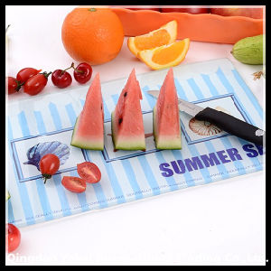 Summer Series of Tempered Glass Cutting Board pictures & photos
