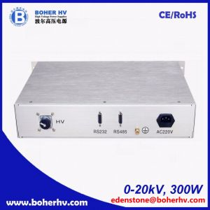 High power supply 20kV 300W for general purpose LAS-230VAC-P300-20K-2U pictures & photos