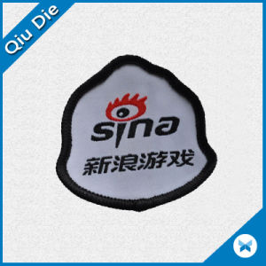 Customized Woven Label with Your Club Name for Promotional Badges pictures & photos