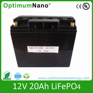 12V 20ah Rechargeable Li-ion Bike Battery pictures & photos