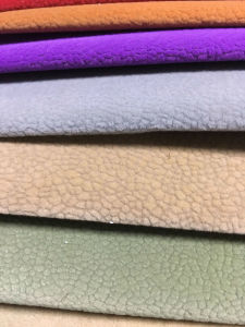 Flocked Fabric Single Flock Fabric Waterproof Fabric (S05) pictures & photos