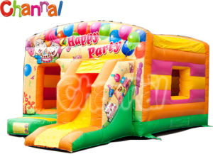 Party Theme Inflatable Bouncer Slide/Toddler Inflatable Air Jumper Combo B003 pictures & photos