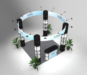 Custom Printed Trade Show, Portable Trade Show Booth, Aluminum Trade Show Display Booth pictures & photos