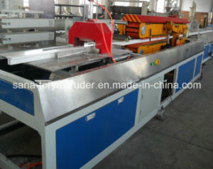 Hot Sale Plastic UPVC Door Window Profile Production Line pictures & photos