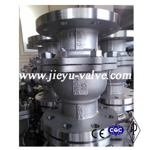 DIN Ss316/CF8m Flange Ball Valve Pn16 Dn80 pictures & photos