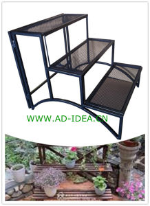 Garden Metal Flower Pot Stand Wrought Iron Plant Stand pictures & photos