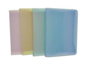 A5 Transparent Ppzipper File Bag (D8010) pictures & photos