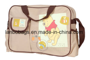 600d Polyester Cartoon Baby Diaper Bag