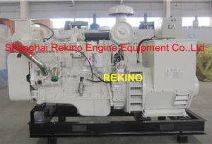 100kw/125kVA 50Hz Cummins Marine Diesel Genset Generator (6CT8.3-GM115/ MP-H-100-4)