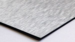 Silver Brushed Aluminum Composite Panel