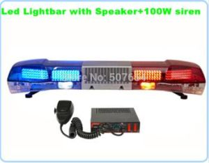 LED Emergency Lightbar with Siren