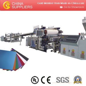 High Quality Plastic PVC Sheet Exrusion Production Line pictures & photos