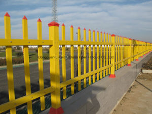Anti-Aging Construction FRP Pultruded Fence Barrier Used Guardrail Handrail