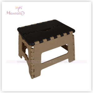 Sturdy Plastic Mixed Color Foldable Stool for Easy Storage pictures & photos