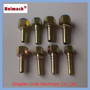 Casting Hydraulic Fittings with Carton Steel Material pictures & photos