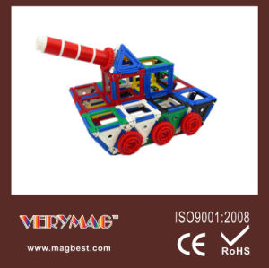 Children Building Plastic Toy, Magformers (MIXformers)