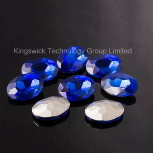 Fancy Stone Point Back Glass Beads pictures & photos