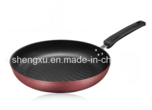 Pure Iron Non-Stick No-Oil Ripple Smoke Pure Iron Frying Pan Sx-Fp001 pictures & photos