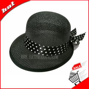 Colorful Woven Paper Hat Sun Straw Hat pictures & photos