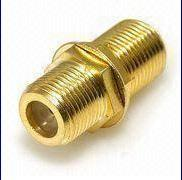 Full Copper F Female Head F Female Head Connector Yd-03 pictures & photos