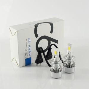 COB C6 H7 36W 3800lm 6000k High Power LED Headlamp pictures & photos