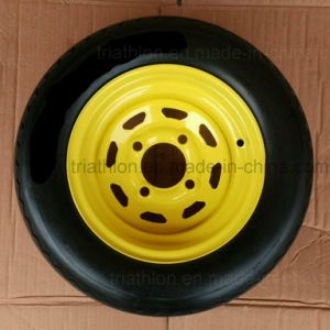 18X 8.50-10 8.50-8 Ribbed Flat Free Golf Cart Tire pictures & photos
