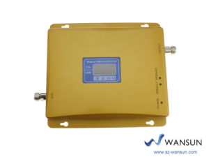 Wansuntone 17c54 LCD Cell Phone Signal Booster Repeater 900/2100MHz GSM/WCDMA Mobile Amplifier 17c54