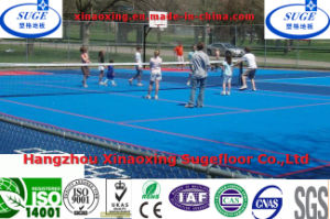 Easy Clean Modular Sports Flooring Flat Pattern for Tennis Court pictures & photos