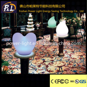 Livingroom Decoration Heart Shape LED Table Light pictures & photos