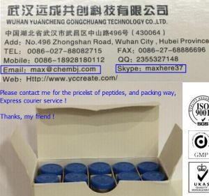 Wholesale 98% Assay Peptides Peg-Mgf 2 Mg/Vial pictures & photos