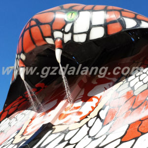 Fiberglass Elapoid Water Slide (WS021) pictures & photos