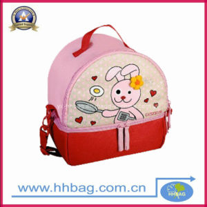 Lovely Kid′s Lunch Box Picnic Bag (YX-Lb-210)