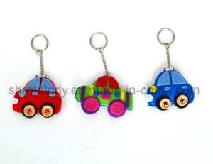 Cute DIY Felt Cars/ Rainbow Key Chain, Keyholder pictures & photos