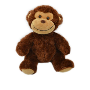Custom Jungle Animal Soft Toy Stuffed Plush Monkey for Wholesale