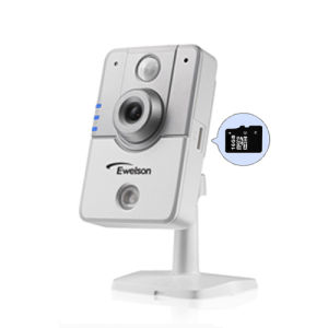 H. 264 1 Megapixel Wireless IP Camera with IR-Cut, Support 64GB TF Card (Q4)