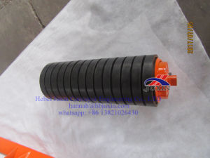 Steel Roller/Trough Roller, spiral Roller, Rubber Disc Roller, Rubber Support Roller, Carrier Roller pictures & photos