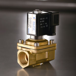 Direct Acting Oil Water Solenoid Valve DC12V PU220-06 NPT pictures & photos