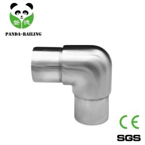 Stainless Steel 90 Degree Round Elbow for Balustrade Handrail Railing System pictures & photos