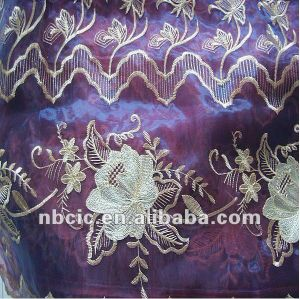 Embroidery Organza for Curtain pictures & photos