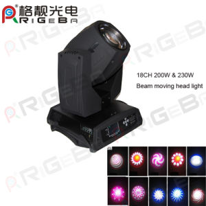 18CH Advance Version 200W&230W Sharpy Beam Moving Head pictures & photos