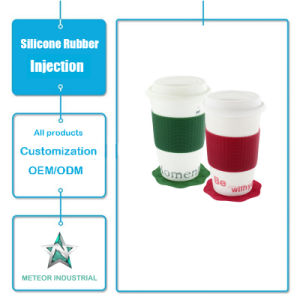 Customized Silicone Products Silicone Cup Skin Cover Injection Tool pictures & photos
